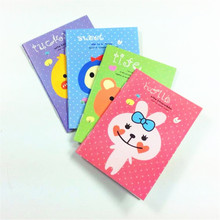 1pcs/lot Kawaii Animal design Mini notebook students diy diary pocket travel  plan book