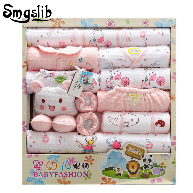 18pcs/set Cotton Newborn Baby girl winter clothes Autumn Baby Boy Clothing Set Cartoon Gift 0-6M first birthday outfit girl alphabet and girl words cartoon birthday candle set