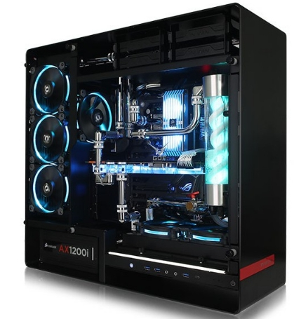 I9 7900X 32G Luxury Host Super Computer Desktop Pc With With Water-cooling Case Box Enclosure