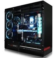 I9 7900X32G роскошный хост супер компьютер настольный ПК с водяным охлаждением пластиковый кейс
