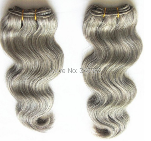 Sexy Hot 1pcs 3pcs 160 Mix With Silver Blonde Hair Extensions