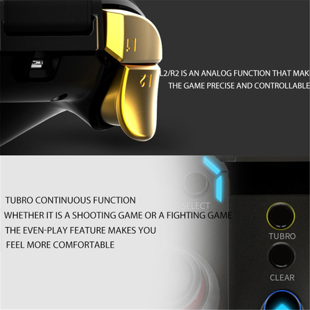 Image 5 - New PG 9188 Universal Grip Gamepad Eat Chicken Artifact PG 9120 Stretch Bluetooth Handle High Quality For Apple-in Gamepads from Consumer Electronics
