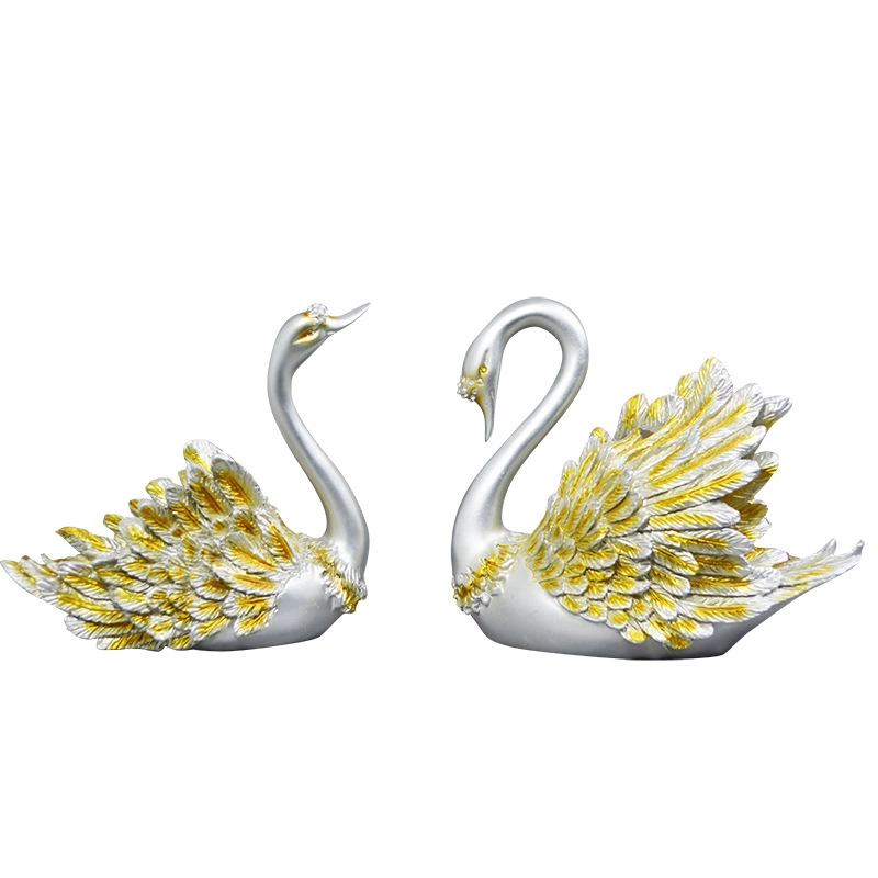 2019 Vintage Couples Swan Ornaments Retro Style Nordic Swan Statue Key Jewelry Storage Tray Desktop Decoration Miniatures Crafts2019 Vintage Couples Swan Ornaments Retro Style Nordic Swan Statue Key Jewelry Storage Tray Desktop Decoration Miniatures Crafts