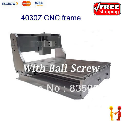 CNC 3040Z engraving machine frame with Ball Screw 4030 CNC router for DIY enthusiast no tax ship from factory new release diy 3040t cnc frame for 3040 cnc router with trapezoidal screw for milling machine frame