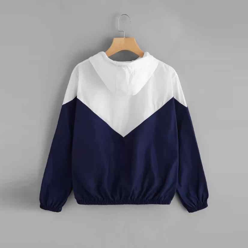 Bovenkleding & Jassen Jassen fashion Rose Dunne Skinsuits Hooded Zip Bloemen Pockets Sport jassen en jassen vrouwen 2018AUG10