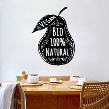 Creative Pear Wall Stickers Personalized vinyl Room Decoration