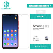 "NILLKIN Protector de pantalla de cristal templado 9H para xiaomi Redmi Note 7 PRO, Amazing H/H + pro, 6,3"""
