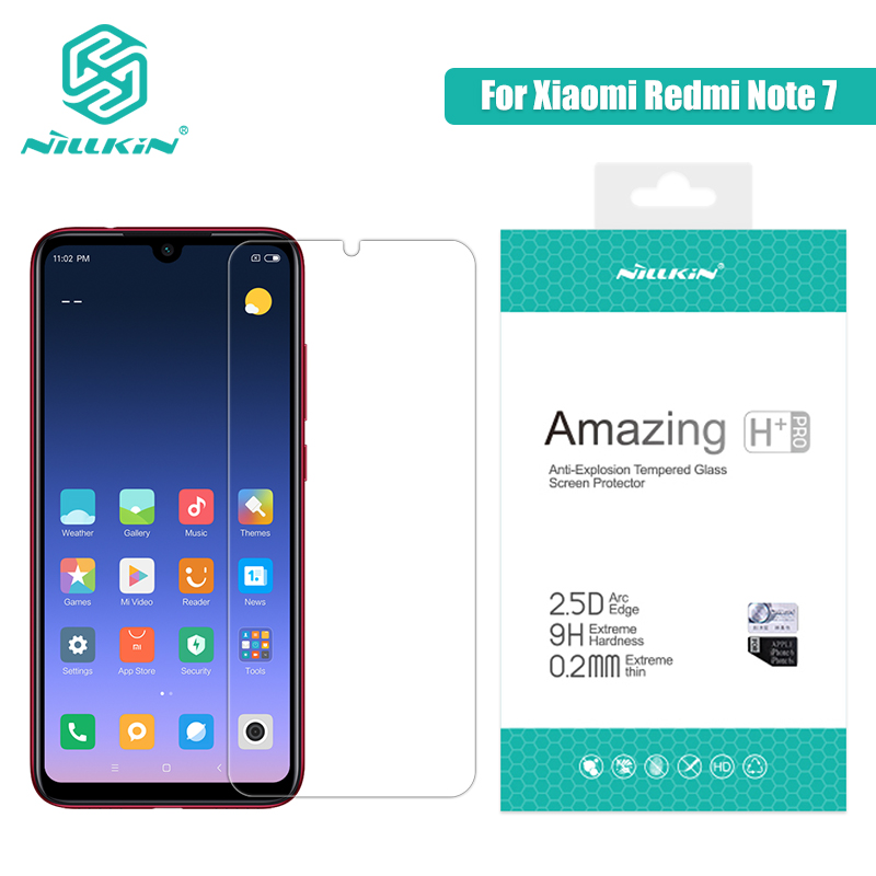 Redmi Note 7 Glass Screen Protector 6.3'' NILLKIN Amazing H/H+PRO 9H Tempered Glass For Xiaomi Redmi Note 7 Pro Redmi Note 7s