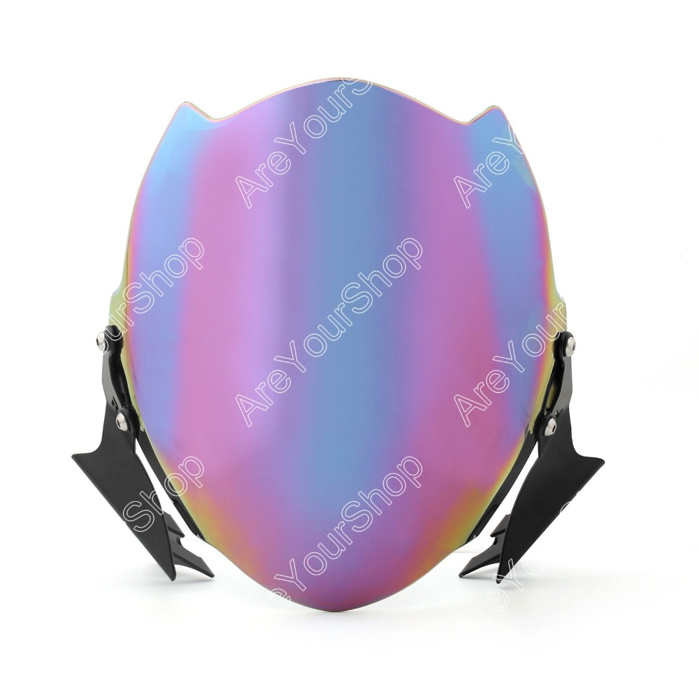 Areyourshop 7 Colors for Ducati Monster 696 796 1100 / 1100S / 1100EVO 659 / 795 Motorcycle Fly Wind Screen Windshield