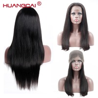 Brazilian Straight 360 Wig Lace Frontal Human Hair Wigs Pre Plucked Natural Remy Lace Front Wigs With Baby Hair 10 24 Inch