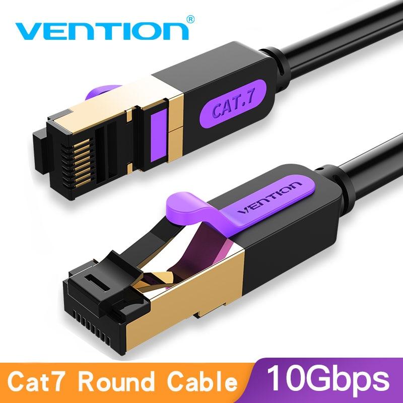 Vention Ethernet кабель Cat7 RJ45 Lan Кабель SSTP сеть Интернет 5 м 10 м 20 м патч-корд кабель для ПК роутера ноутбука кабель Ethernet