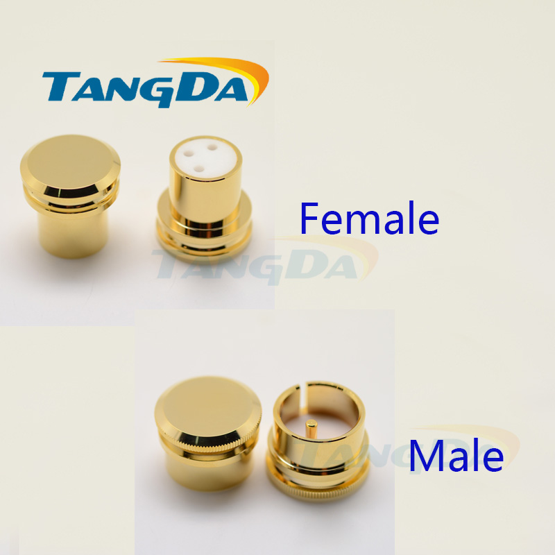 Consumer Electronics Plug & Connectors 5 Pieces Hi End Yy-fcm-001 Noise Stopper Gold Plated Copper Xlr Plug Caps Xlr Protect Cap