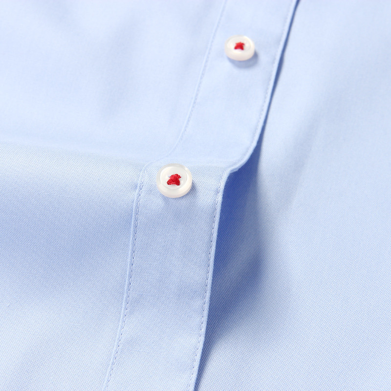 Smartfive Men Shirt 100% Cotton Casual Shirts White Camisa Masculina Long Sleeve Shirt Men Summer 2017 New SFL4K62