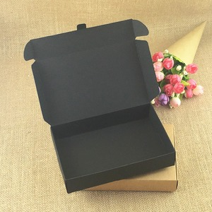 Image 3 - 50pcs/lot Brown Kraft Craft Paper Jewelry Pack Boxes Small Gift Box For Biscuits Handmade Soap Wedding Party Candy Packaging Box