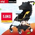 Carrinho de bebê carrinho de criança dobrável leve viajando poussettes protable carrinhos buggy Carrinhos de rodas de carro do bebê