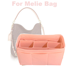 Fits Melie-3MM Premium Felt Handmade 20 Colors Handbag Purse Organizer Tote Insert Diaper Bag