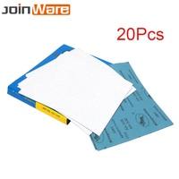 20 Sheets 9 x 11 Sandpaper Waterproof Abrasive Paper Sand Paper For Metal Car Wood Polishing Grinding 120~1000# 280 X 230MM