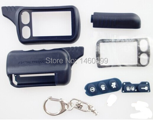 Partihandel TZ 9010 Case KeyChain för ryskt 2-vägs larmsystem Nyckelkedja Tomahawk TZ-9010 TZ9010 Tomahawk TZ9030, TZ 9030, TZ-9030