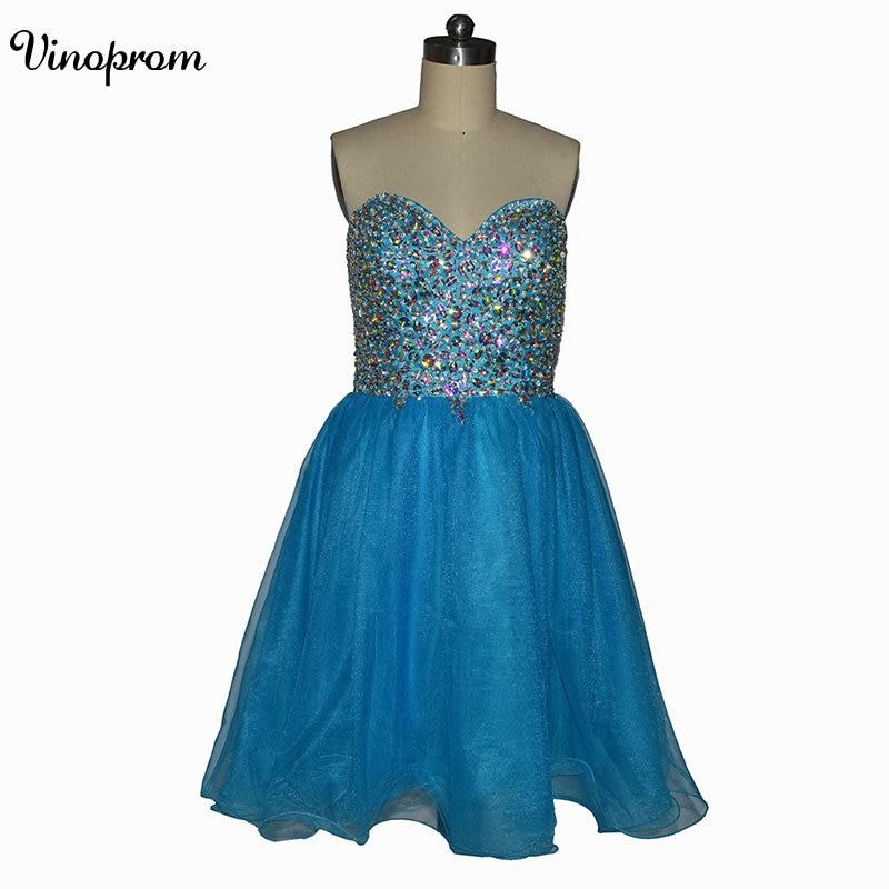Vintage Sweetheart Mini Length Prom   Dresses   2018 Hot Sale Free Shipping Tulle   Cocktail     Dresses   Vestidos De Coctel Graduatiion Ve