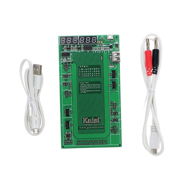 New Battery Activation Charge Board with charge cable Activate Plate for iphone 4 4s 5 5s 6s 6 plus mobile phone repair tool
