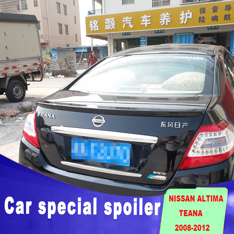 2008 2009 2010 2017 For Nissan Altima Spoiler Abs Material Any Color Paint Teana By Rear Trunk Roof Primer In Spoilers Wings From