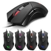 10PCS Gaming Mouse Gamer Laptop PC Mice USB Wired Ergonomics Design Desktop Computer Peripherals Plug And Play