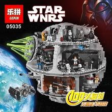 LEPIN 05035 3804Pcs Star Wars Death Star Minifigures Building Blocks Brick Toys 100% Compatible with Legoe 10188