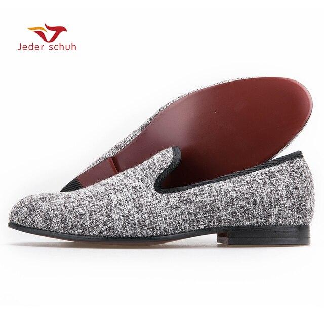 New High Quality Men Sesame Cotton Shoes  Men Plus Size Loafers Smoking Slipper Fashion Men's Flats Free shipping