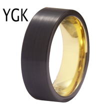 YGK Jewelry Men Tungsten Ring Classic Wedding Band for Women Comfort Fit Engagement Anniversary Lovers  Fashion Party