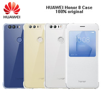 Original HUAWE Honor 8 Case PC PU Flip Leather Case Cover For HUAWEI Honor 8