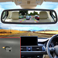 5 ''TFT Lcd Monitor Del Espejo de Coche Para Kia Rio Cinco/RX-V/Stylus/SF 2000 ~ 2005 con La Visión Nocturna de Visión Trasera Del Coche cámara