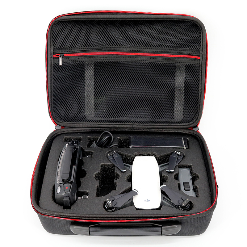 Waterproof Spark Bag Box Case Accessories for DJI Spark Drone Storage Bag Carry Case rc dji mavic pro professional waterproof drone bag hardshell portable case handbag backpack battery charger storage bag