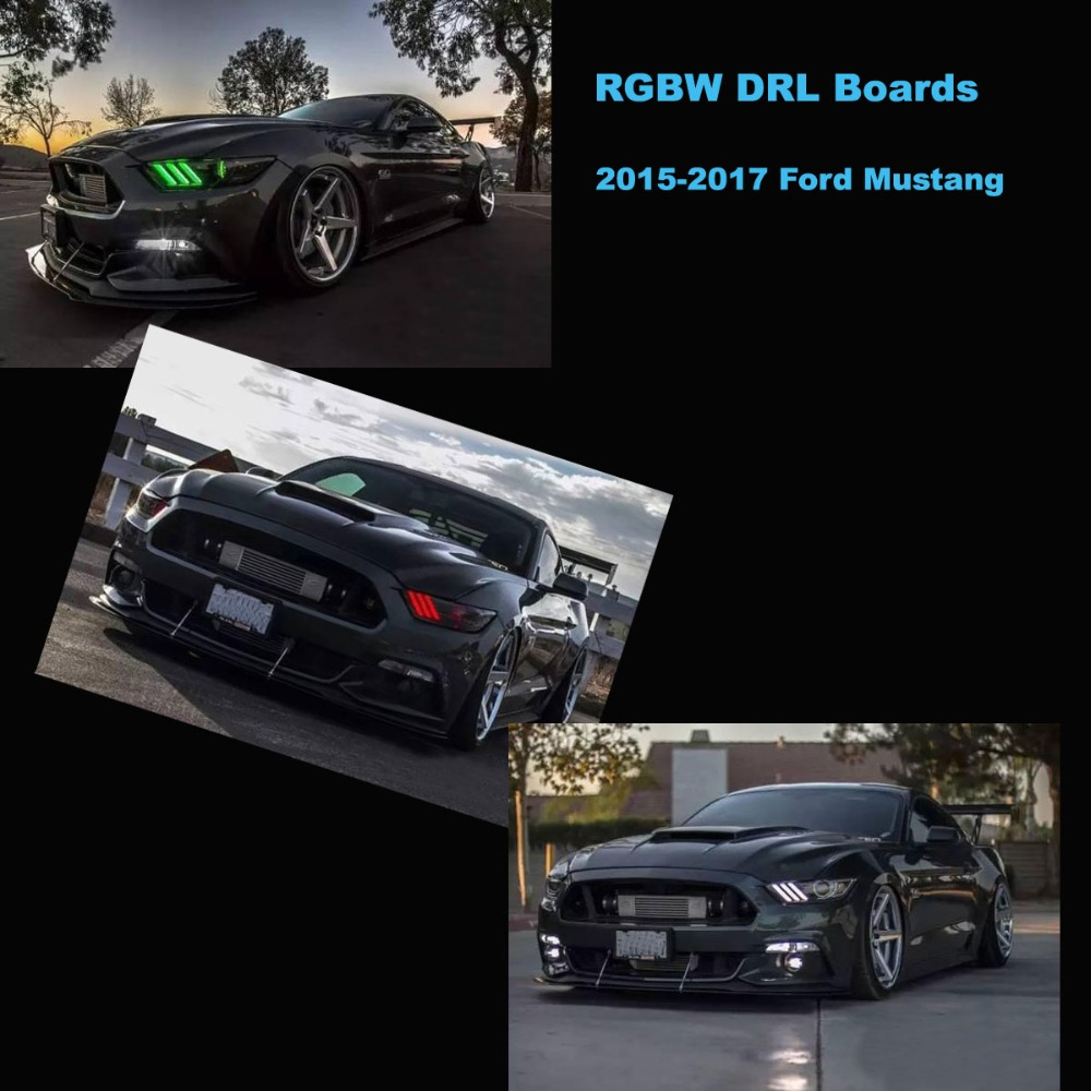 Ford Mustang RGBW DRL 0