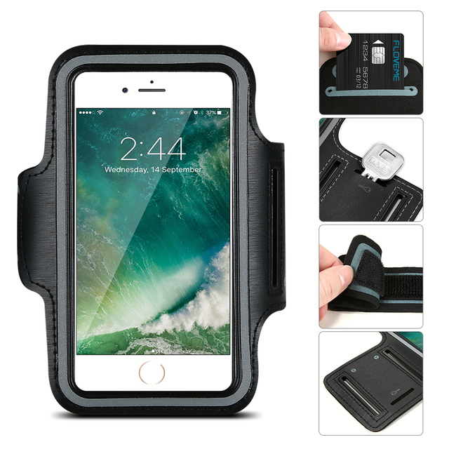 buy online 4024b 2fa5e ABCSE Waterproof Sport Armband Case for iphone 8 6 6s i6 I7 ...