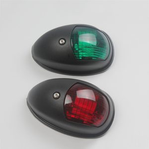Image 2 - 1 par de luces de navegación para barcos marinos, 12 V, rojo, verde, accesorios para barcos marinos