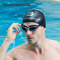 Barracuda Swimming Goggles water sports Anti glare Curved Lenses Anti fog UV Protection Triathlon #33975