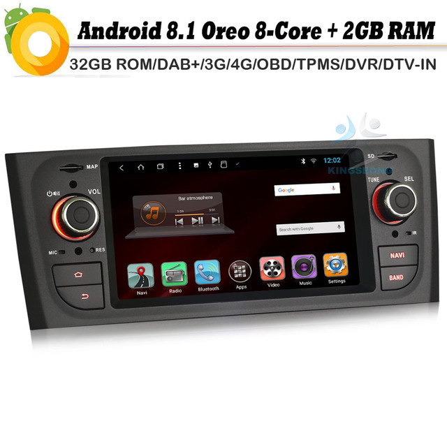 Android 8.1 Autoradio Octa Core DAB+ GPS Navi WiFi 4G DVR BT OBD2 DVT-IN 49cce80a2523