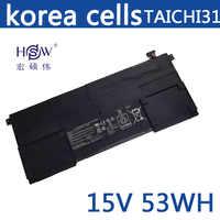 HSW 15 v 53WH genius C41-TAICHI31 Batteria Del Computer Portatile per ASUS Ultrabook TAICHI31 TAICHI 31 C41-TAICHI31 bateria akku