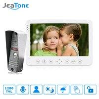 JeaTone 7 Built In Memory 1 Outdoor Camera 1 Monitor Video Intercom DoorPhone Doorbell Intercom Waterproof