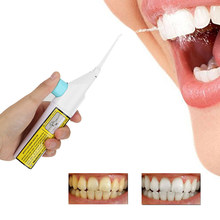1PC Portable Air Hygiene Dental Floss Dental Water Jet Irrigator Oral Tooth Mouthpiece Cleaning Mouth Cleaner Prosthesis(China)