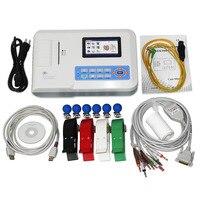 CONTEC ECG300G Digital 3 Channel 12 LEAD Electrocardiograph ECG machine +PC SW FDA