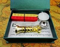 Free Shipping Europen Flower De Luce Customized Wax Stamp Wax Sealing Wax Seal Restoring Ancient Ways