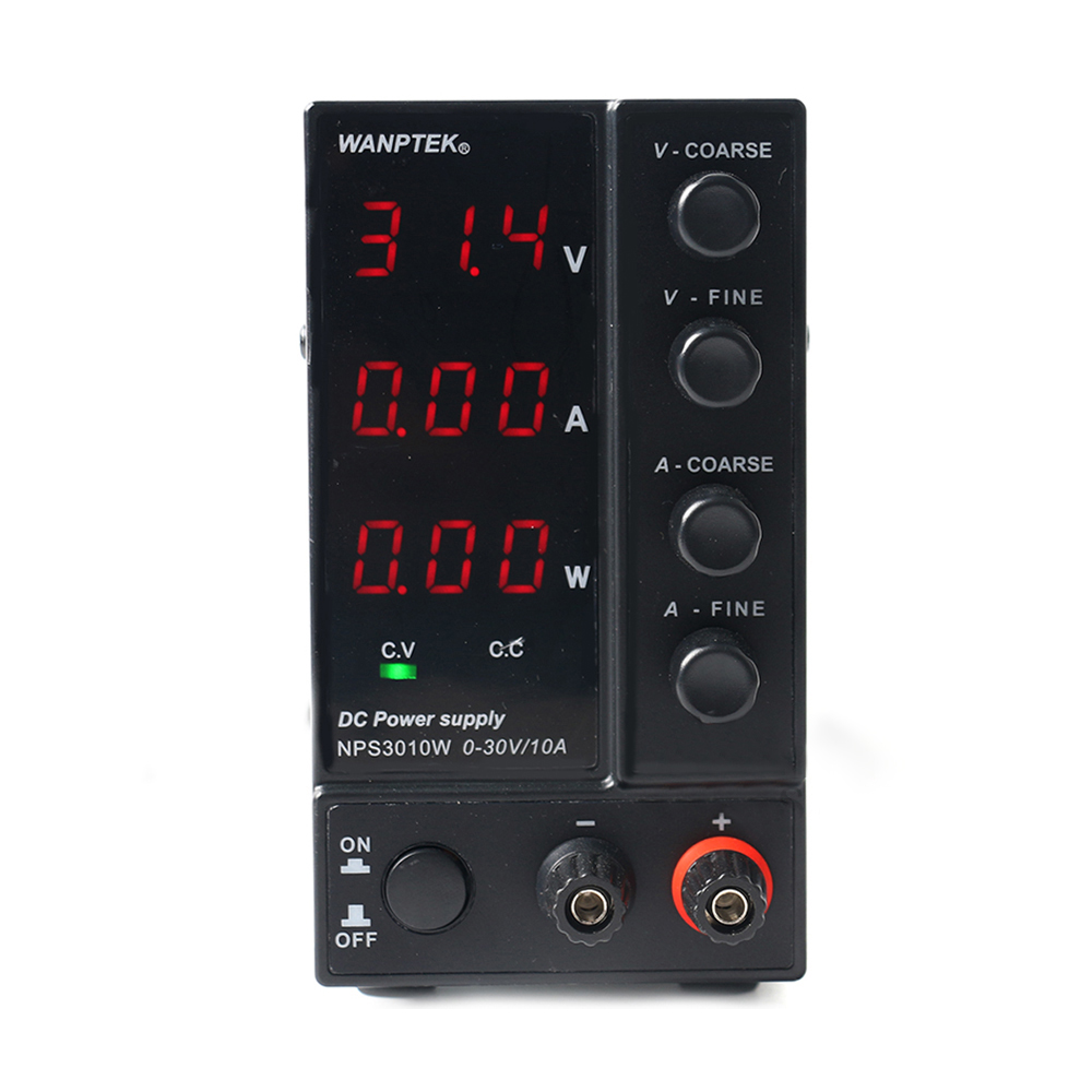 NPS3010W DC regulated power supply Power Display Mini Adjustable Digital 0-30V 0-10A Laboratory Test Power Supply