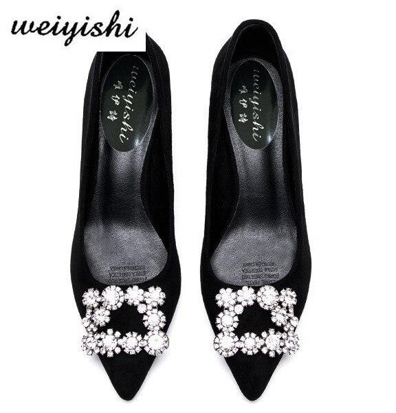 2018 kobiet w nowym modne buty. Buty damskie, marka weiyishi 016 w Buty damskie na słupku od Buty na  Grupa 2