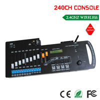 DHL Бесплатная доставка 2.4 г 240ch Wireless DMX консоли контроллера беспроводной transmfer сигнала