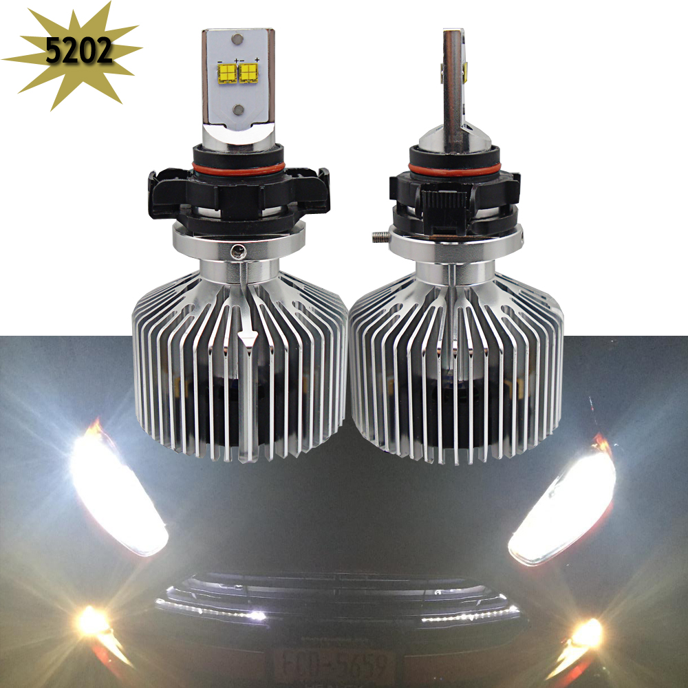 Pair 9000LM 6000K Car LED Headlights H7 H8 H11 HB3/9005 9006 H4 H10 5202 9007 9004 H13 Auto Front Bulb 90W Automobiles Headlamp