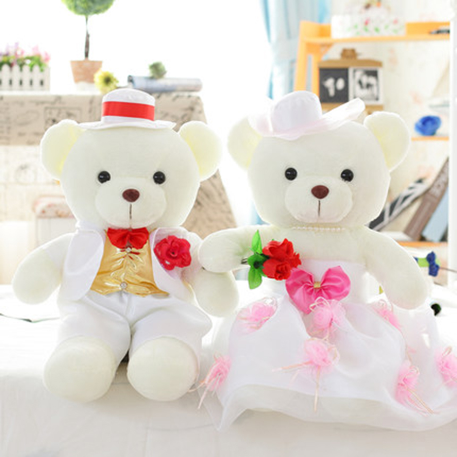 Baby Dolls For Girls Kids Teddy Bear Birthday Gifts Soft Mini Care