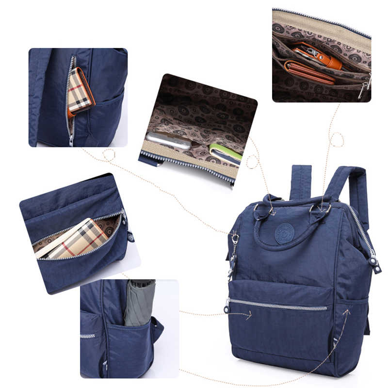 TEGAOTE Нейлоновый Рюкзак Студенты школьная сумка для подростков обувь девочек мальчиков рюкзаки уличная мода ноутбук