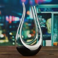 1500ML Big Decanter Handmade Crystal Red Wine Brandy Champagne Glasses decanter Bottle Jug Pourer For Family Bar Birthday Gift