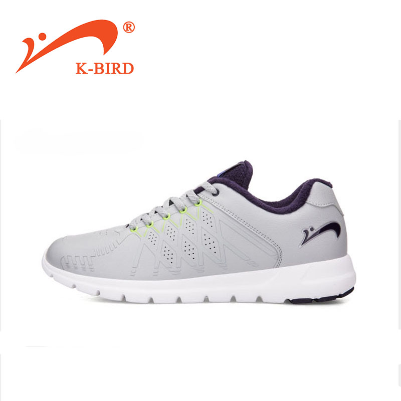 Sports shoes For Men , Easy To Bend Running Shoes, Keep warm track shoes K-BIRD winter sneakers